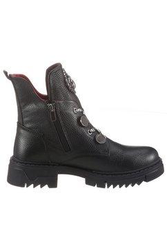 2go fashion hoge veterschoenen zwart