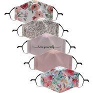 haily's mondkapjes - set van 5 roze