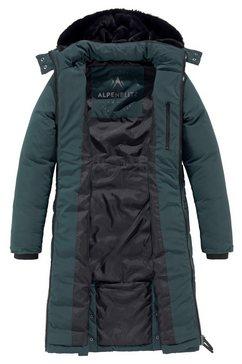 alpenblitz doorgestikte jas »bangkok long« groen