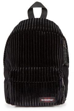 eastpak rugzak »orbit velvet black« zwart