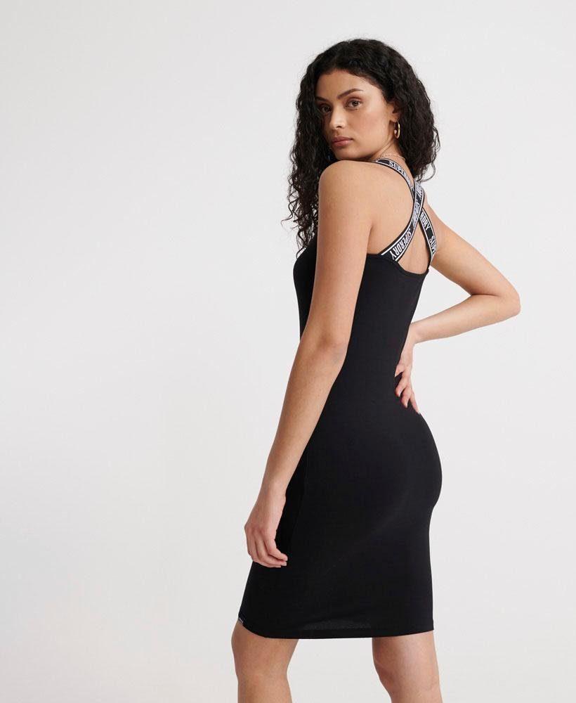 Superdry Jerseyjurk City Jacquard Bodycon Dress Vind Je Bij - Geweldige Prijs