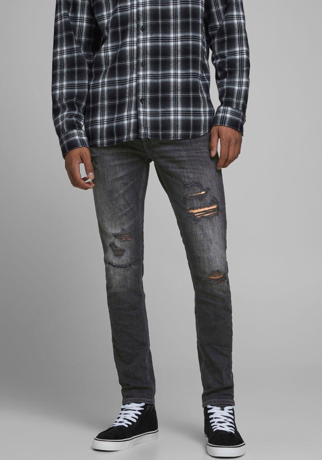 Jack & Jones skinny fit jeans »Liam« bij OTTO online kopen