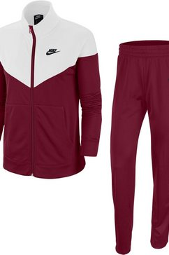 nike sportswear trainingspak »w nsw trk suit pk« (2-delige set) rood