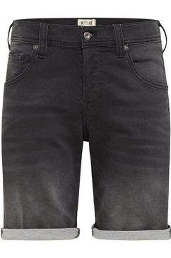 mustang jeansshort »jeans short chicago short« zwart