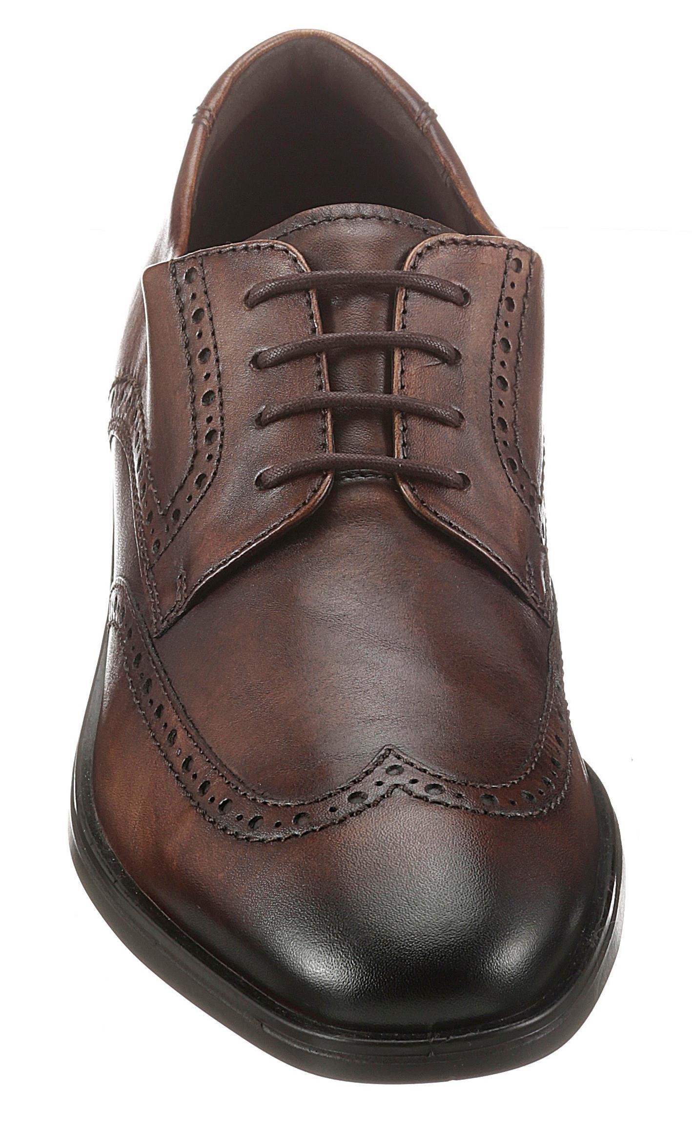 Ecco schoenen met perforatie »Melbourne« nu online bestellen
