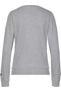 arizona sweatshirt »mit sternendruck« grijs