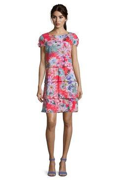 betty barclay gelaagde jurk »mit fluegelaermeln« roze