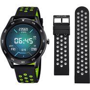 lotus smartwatch smartime, 50013-1 (3-delig, met wisselband van zacht silicone en oplaadkabel) zwart