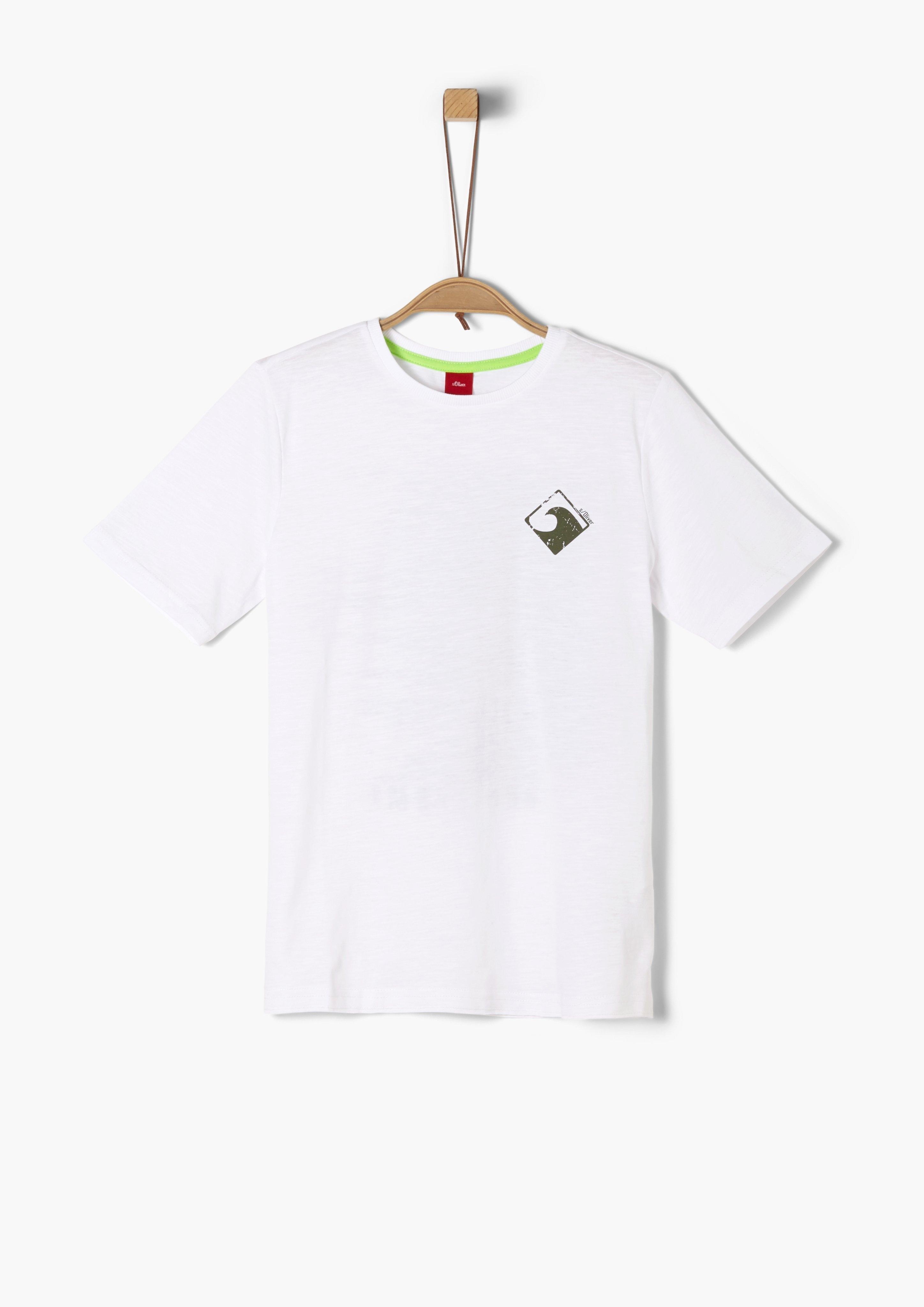 s.Oliver RED LABEL s.Oliver Junior T-shirt met print voor jongens nu online kopen bij OTTO