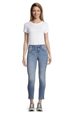 cartoon slim fit jeans »mit waschung« blauw