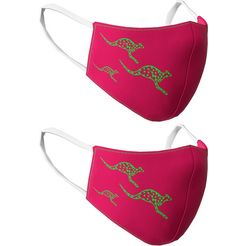 chiemsee mondkapje voor meisjes - set van 2 roze