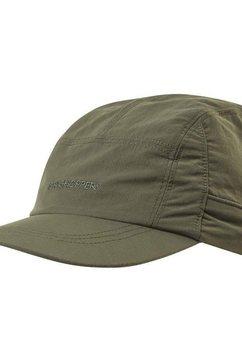 craghoppers baseballcap »erwachsene unisex nosilife desert hut ii« groen