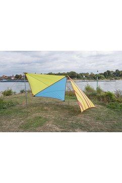bent »zip friends caribbean-set« tarp (met transporttas) multicolor