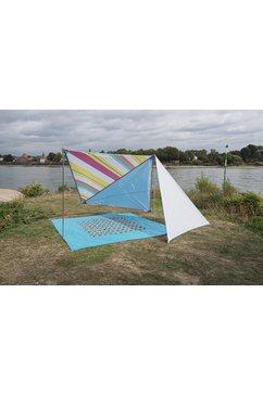 bent »zip friends caribbean deluxe-set« tarp (met transporttas) multicolor