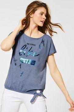cecil t-shirt blauw
