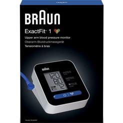 braun »exactfit™ 1 bua5000v1« bovenarm-bloeddrukmeter wit