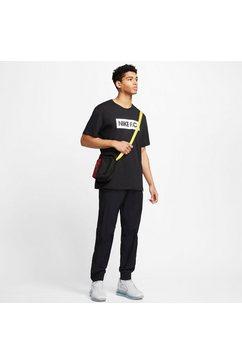 nike t-shirt »nike f.c. men's t-shirt« zwart