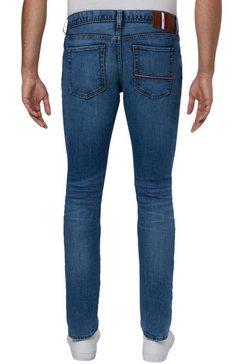 tommy hilfiger slim fit jeans »layton« blauw