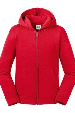 russell nickyjack met capuchon »kinder authentic zip kapuzenjacke« rood