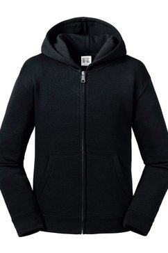 russell nickyjack met capuchon »kinder authentic zip kapuzenjacke« zwart