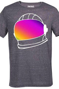 musterbrand t-shirt »helmet« grijs