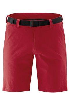 maier sports functionele short »nil short m« rood