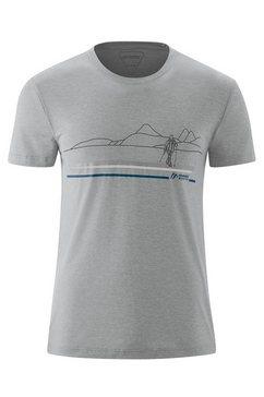 maier sports functioneel shirt »myrdal print m« multicolor