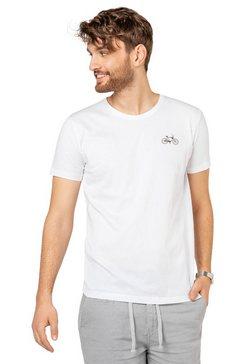 eight2nine shirt met ronde hals wit