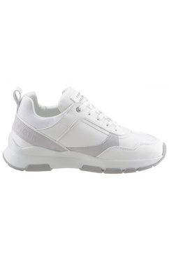 tommy hilfiger sneakers »sporty chunky leather sneaker« wit
