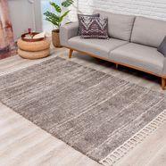 carpet city hoogpolig vloerkleed »pulpy 524« grijs