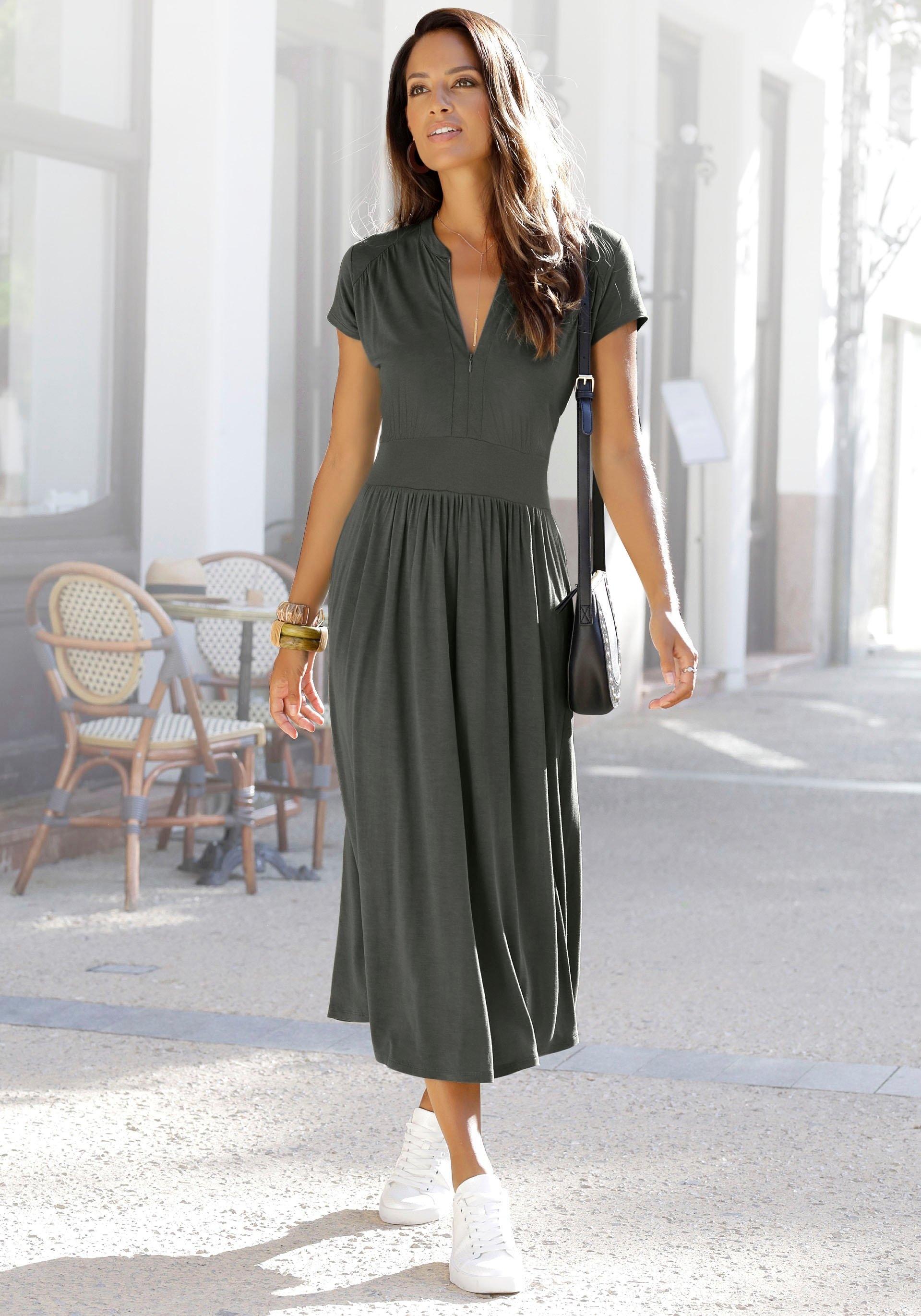 Lascana Midi-jurk bestellen: 30 dagen bedenktijd