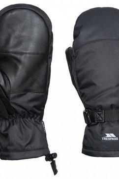 trespass wanten »unisex erwachsene adarek ski« zwart