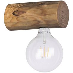 spot light wandlamp »trabo simple«, bruin