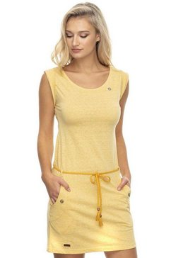 ragwear jerseyjurk »tag« (met een afneembare riem) gelb