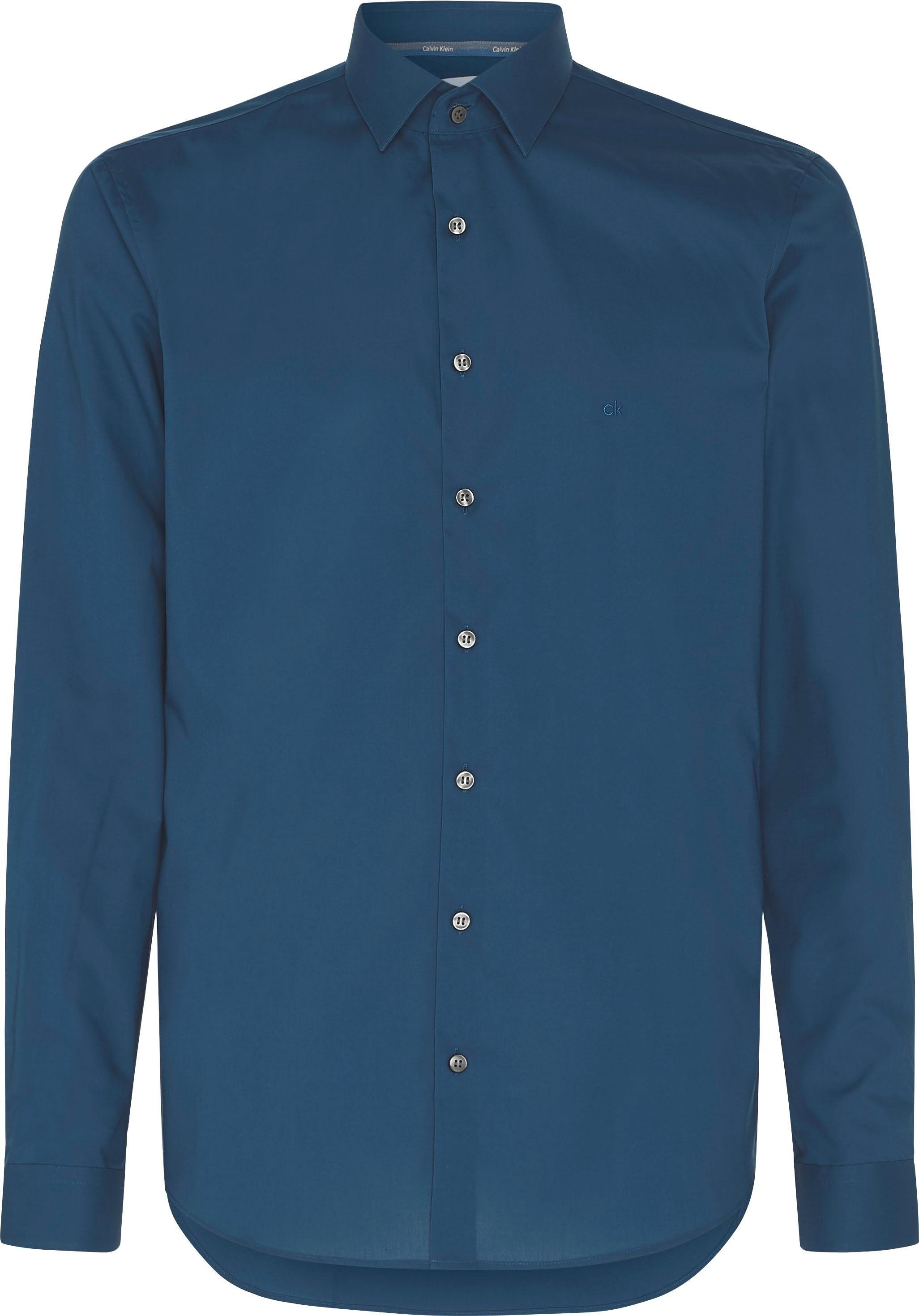 Calvin Klein businessoverhemd »POPLIN STRETCH SLIM SHIRT« nu online bestellen