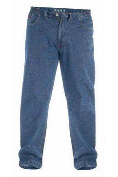 duke clothing comfort fit jeans »london herren kingsize bailey jeans elastischer bund« blauw