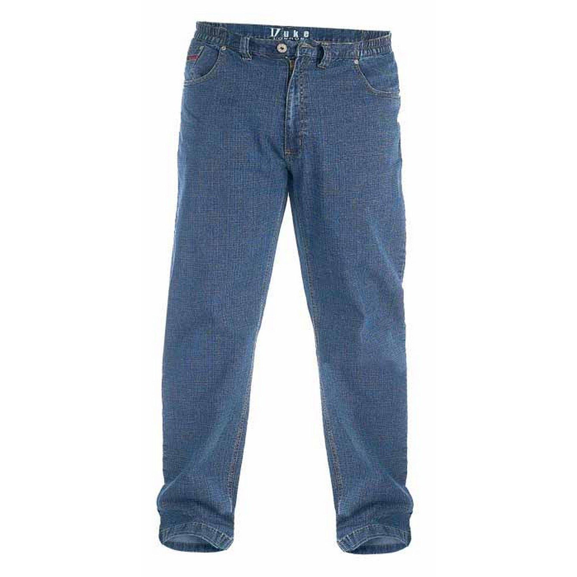 Duke Clothing comfort fit jeans »London Herren Kingsize Bailey Jeans elastischer Bund« in de webshop van OTTO kopen