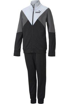 puma trainingspak »rebel suit boys« zwart