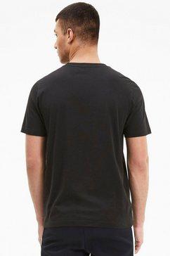 puma t-shirt »modern sports logo tee« zwart