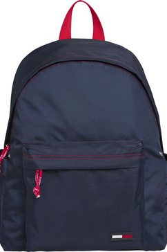 tommy jeans rugzak »tjm campus boy backpack« blauw