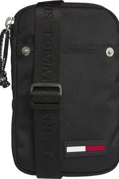 tommy jeans mini-bag »tjm campus boy hanging wallet« zwart