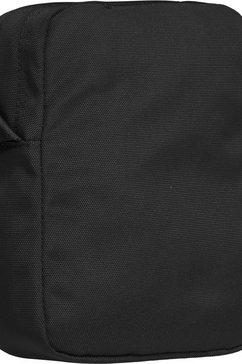 tommy jeans schoudertas »tjm campus boy mini reporter« zwart