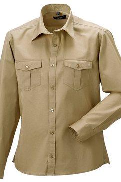 russell overhemd met lange mouwen »collection herren hemd - arbeitshemd, langarm« groen