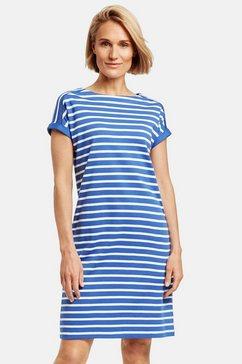 gerry weber gebreide jurk »freizeitkleid aus baumwolle«