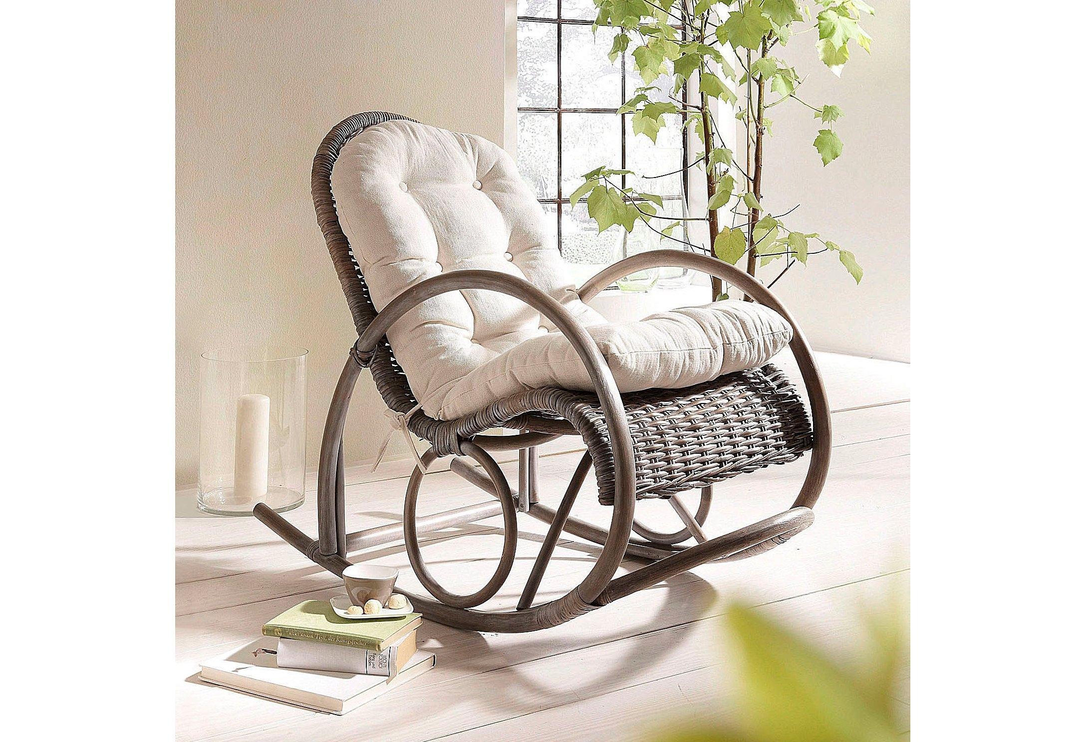 Kussen Voor Rotan Schommelstoel.Schommelstoel Kopen Bestel Gemakkelijk Online Otto