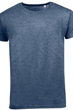 sols t-shirt »herren mixed, kurzarm« blauw
