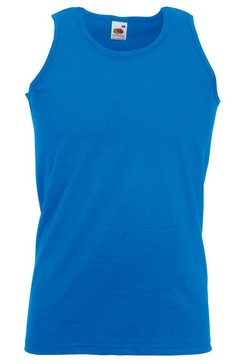 fruit of the loom tanktop »athletic tank top fuer maenner« blauw