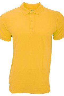 gildan poloshirt »herren premium sport pique polo-hemd« goud