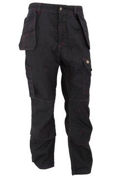 dickies functionele broek »redhawk herren arbeitshose, 76 cm beinlaenge« zwart