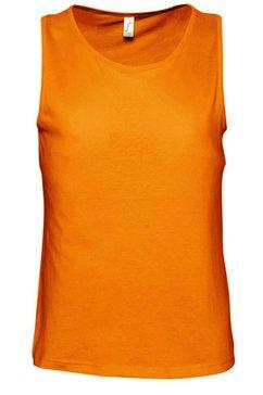 sols tanktop »herren justin tank-top - top, aermellos« oranje
